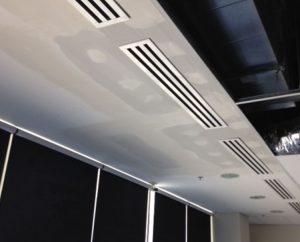 ceiling repair process
