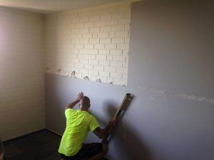 plasterboard wall repair team