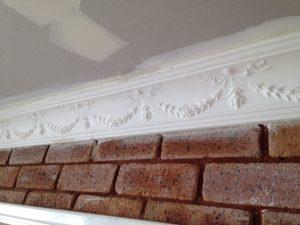 southern ceiling repair in cornice