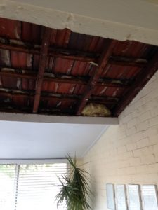 Southern Ceiling repairs water damage